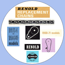 Renolds Timing Chain Catalogues 1954-1965 & 1960 - 1971