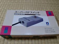 HORI Super RF Switch SFC Famicom PC-Engine HSRF-01 Near Mint Unused 2
