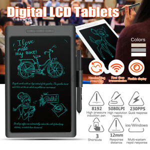 "10"" LCD Digital Tablets Pressure Induction Degital Drawing Pad Writing Boards"
