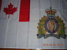 British Empire Flag Royal Canadian Mounted Police RCMP Canada Ensign 3ftX5ft GB