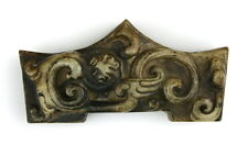 HAN DYNASTY SWORD GUARD - CALCIFIED JADE