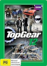Top Gear: Series 12 twelve DVD R4 Steelbook New & Sealed Jeremy Clarkson Hammond