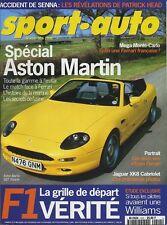 SPORT AUTO n°412 Mai 1996*SPECIAL ASTON MARTIN