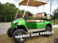 YAMAHA g14 16 19 g22 Golf Cart Polished Aluminum Diamond Plate Flat Side Panels