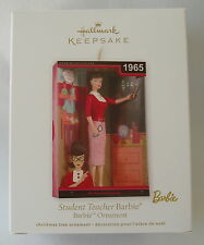 Hallmark 2012 Barbie Student Teacher 1965 School Christmas Keepsake Ornament