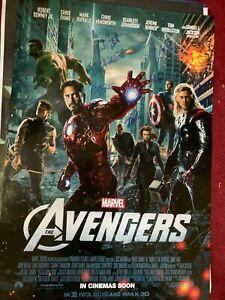 Rare CAST SIGNED Avengers Poster Stan Lee THOR Hulk LOKI X-Men Comic Black Widow