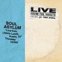 "SOUL ASYLUM – ""LIVE FROM LIBERTY LUNCH, TX"" 92 RSD 2018 2X VINYL LP (NEW)"