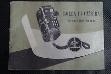BOLEX C8 INSTRUCTIONS ORIGINAL