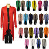 JUSTYOUROUTFIT WOMENS LADIES VISCOSE ITALIAN MADE WATERFALL OPEN CARDIGAN- 5320