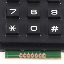 3x4 Matrix 12 Keyboard Keypad USE Keys PIC AVR Stamp 69 x 51 x 10mm LW