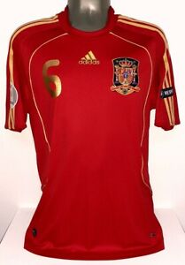 ADIDAS SPAIN EURO2008 CHAMPION INIESTA M ORIGINAL JERSEY SHIRT