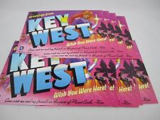 """Starfire DC Comic """"Greetings from Key West"""" Wish You were here POST CARDS LOT OF"""