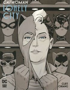 CATWOMAN LONELY CITY #1 COVER B CLIFF CHIANG VARIANT VF/NM DC HOHC 2021