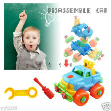 Disassembly and assembly children toy Truck Curiosity Educational toys for Kids
