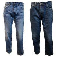 "Men`s Ex-Store Straight Leg Jeans Waist Size 30-32-34-36-38-40-42"" Regular Fit"