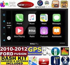 2010-2012 FORD FUSION GPS NAVIGATION SYSTEM BLUETOOTH AM/FM CAR RADIO STEREO PKG
