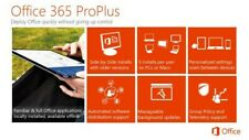 MS Office 365 and Office 2019 ProPlus 32/64 bit 5PC/MAC - Lifetime