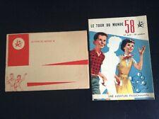 RARE Brochure Exposition 1958 Expo 58 Illustrée par Graton et Will Tintin NEUF