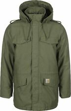 CARHARTT WIP HICKMAN COAT CYPRESS FABRICWASHED XXL -5%OFF JACKET ARMY MILITAIRE