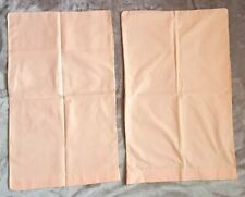 2 X Rose Pink Pillowcases, Cotton blend,  Peachy pink