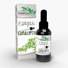 Olio Essenziale all'Eucalipto Aromaterapia Rilassante Relax ML 100 Made in Italy