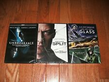 Brand New Sealed. M. Night Shyamalan trilogy on DVD. Unbreakable, Split & Glass