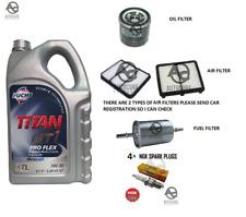 Chevrolet Matiz Service Kit Oil Air & Fuel Filters Spark plugs 0.8 1.0 1.0 Lpg