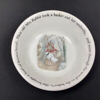 "Peter Rabbit Nursery by Wedgwood  Bowl 6"" - Replacement - Beatrix Potter"