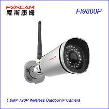 Foscam FI9800P 1.0MP Waterproof 720P P2P Wireless CCTV Surveillance IP Cameras