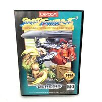Street Fighter II Special Champion Edition Sega Genesis Game & Box Tested