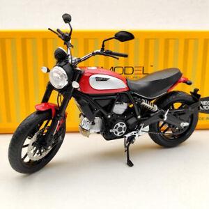 TSM Ducati Scrambler Icon 803CC 2015 Rosso TSMMC004 Red 1/12 Motorcycle Diecast