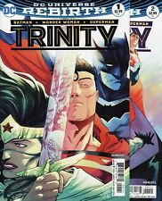TRINITY #1,2,3,4,5 & 6 DC Comics Universe Rebirth BATMAN WONDER WOMAN SUPERMAN!