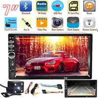 "7"" Inch 7018B Double Din Car FM Stereo Radio MP5 Player Bluetooth Reverse Camera"