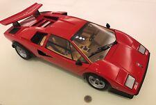 Lamborghini Countach scala 1/8, Nuova, Colore rosso