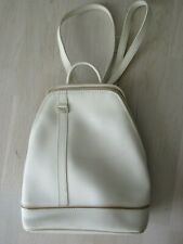 SAC A DOS BAMBOO AND CO BLANC CASSE