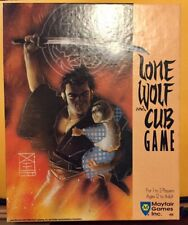 1989 Lone Wolf and Cub Anime Inspired GAME  Mayfair Games VINTAGE