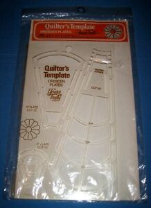 Vintage 1979 Quilter's Template Dresden Plates Yours Truly NOS!