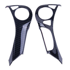 2x ABS Carbon Fiber Steering Wheel Cover Trim Fit For Honda Accord 2014-2017 US