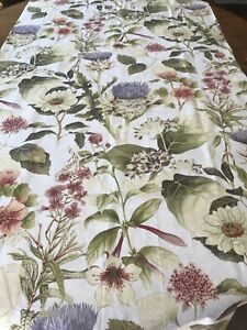 POTTERY BARN THISTLE SHOWER CURTAIN NEW.