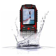 Seniorenhandy 2.4 Zoll Outdoor IP68 Tastenhandy ohne Vertrag 2G GSM Tough Handy