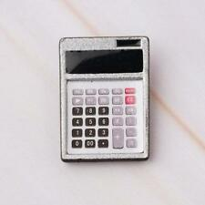 1:12 Dollhouse Metal Calculator Home Office School Miniature Accessory Decor Hot