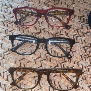 Betsey Johnson 3 pairs of reading glasses