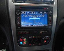 GMC Acadia AM FM Radio Stereo Navigation AUX USB MP3 CD Player Receiver opt UZR