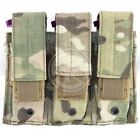Voodoo Tactical Triple Pistol Compact Hunting Military Magazine Pouch Multicam