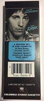 BRUCE SPRINGSTEEN - THE RIVER - CASSETTE LONGBOX USA 26x9,5 - MINT SEALED