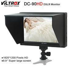 Viltrox DC-90HD 8.9'' 4K LCD HDMI AV INPUT Camera Video Monitor for Canon Nikon