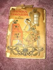Dès Liaisons Dangereuses By laClos illustrated by Berty Hand-Colored