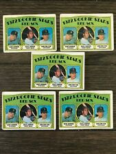 1972 Topps Set (5) CARLTON FISK ROOKIE CARDS #79 LOT - BOSTON RED SOX