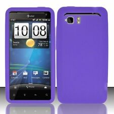 Silicone Skin Case for HTC Vivid - Purple