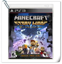 PS3 Minecraft: Story Mode Adventure ENG / 我的世界 故事模式 中文版 SONY Telltale Games
